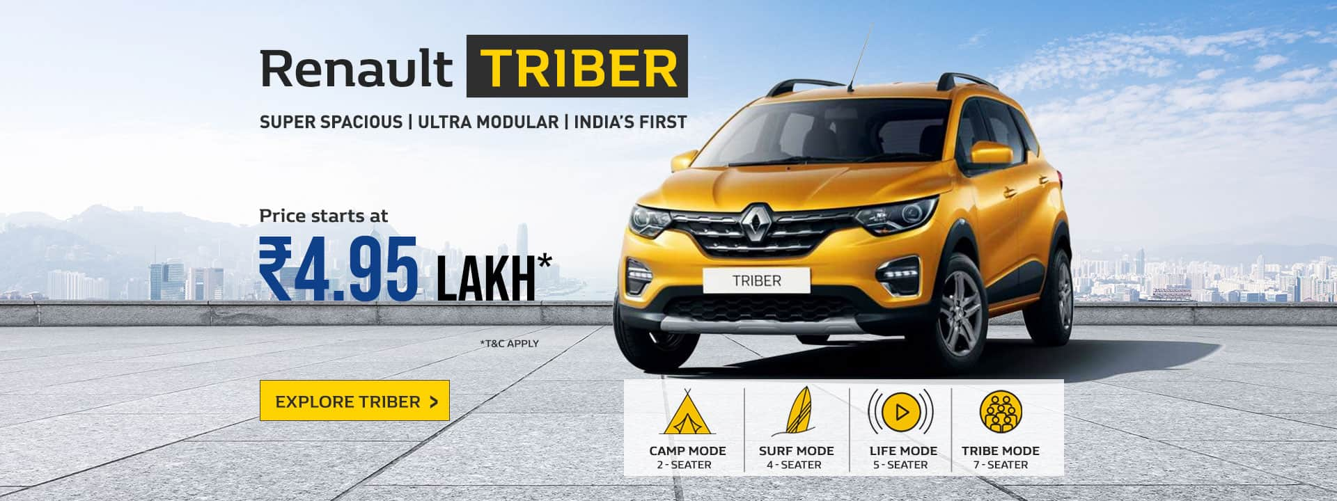 Book Renault Triber Now